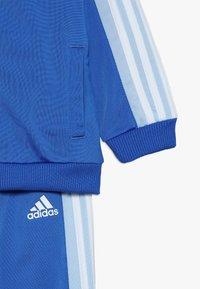 adidas Performance - I SHINY  - Träningsset - blue/glow blue/white - 3