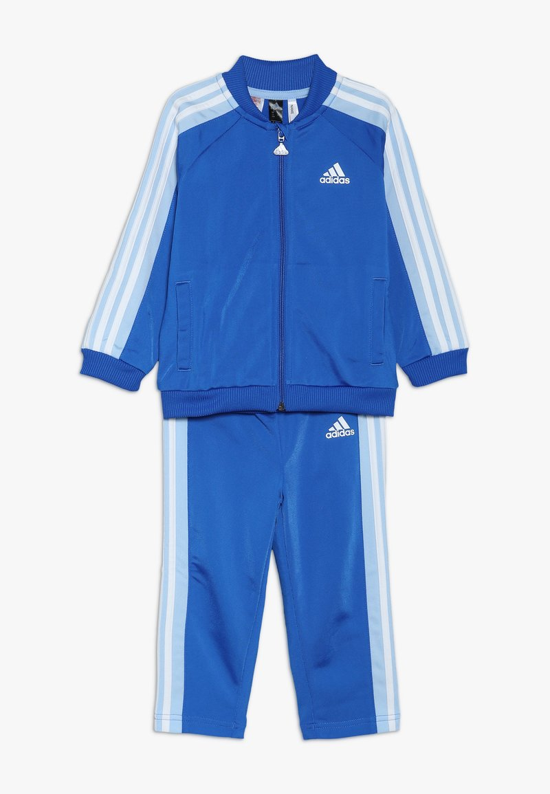 adidas Performance - I SHINY  - Trainingsanzug - blue/glow blue/white