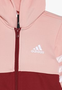 adidas Performance - HOOD - Tracksuit - glow pink/active maroon/white - 6