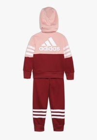 adidas Performance - HOOD - Tracksuit - glow pink/active maroon/white - 1