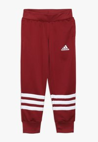adidas Performance - HOOD - Tracksuit - glow pink/active maroon/white - 2