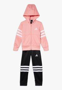 adidas Performance - HOOD SET - Survêtement - glow pink/white - 0