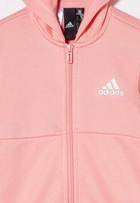 adidas Performance - HOOD SET - Survêtement - glow pink/white - 4