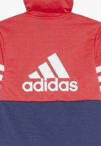 adidas Performance - HOOD SET - Tepláková souprava - dark blue - 4