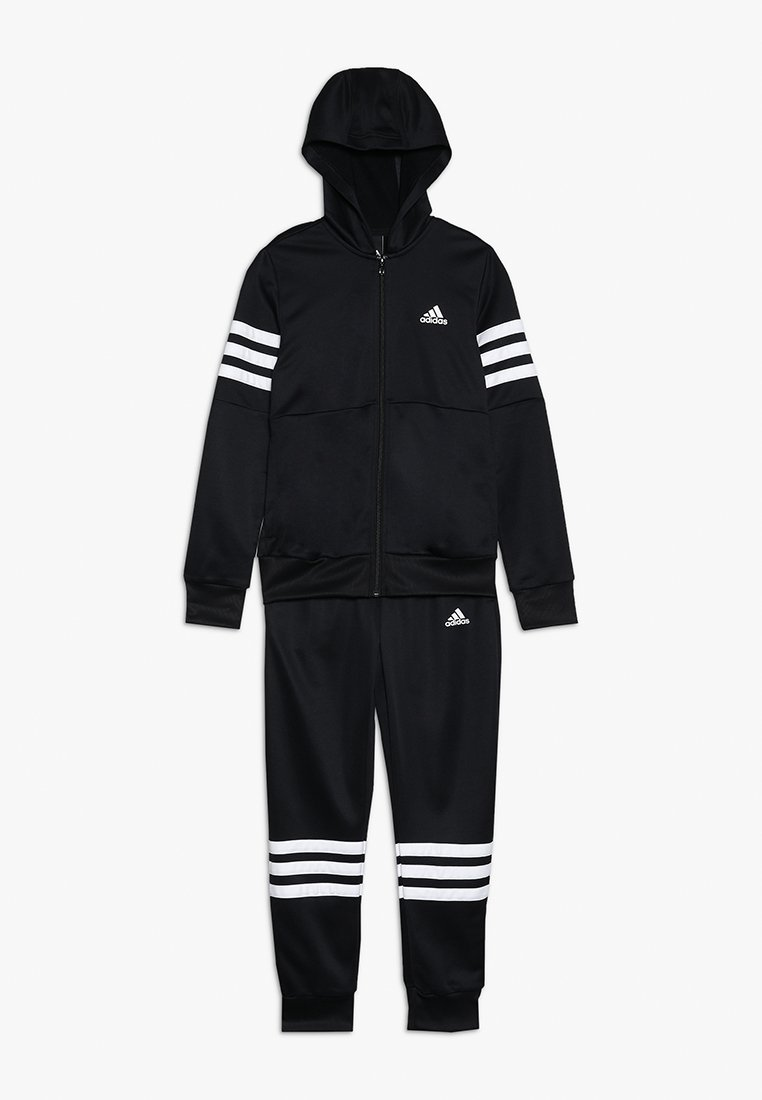 adidas Performance - HOOD - Tuta - black/white