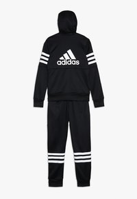adidas Performance - HOOD SET - Tuta - black/white - 1