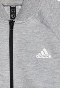 adidas Performance - SET - Trainingspak - mgreyh/white - 6