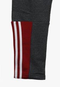 adidas Performance - Træningssæt - dark grey heather/maroon/white - 3