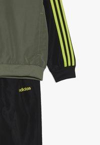 adidas Performance - Tepláková souprava - legend green/black - 4