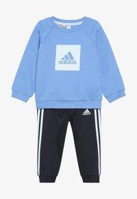 adidas Performance - 3S LOGO - Tuta - blue/light blue - 4