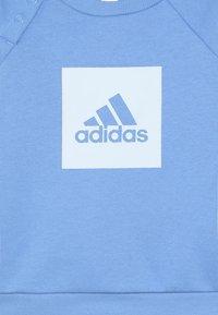 adidas Performance - 3S LOGO - Tepláková souprava - blue/light blue - 5