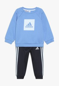 adidas Performance - FAVOURITES SPORTS TRACKSUIT BABY - Dres - blue/light blue - 0