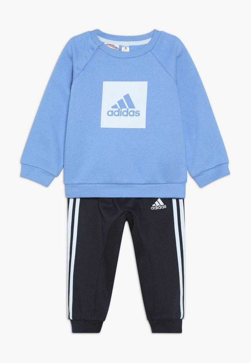 adidas Performance - 3S LOGO - Tuta - blue/light blue