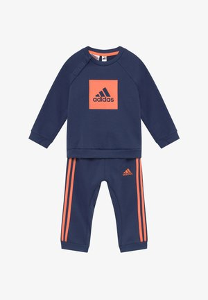 3STRIPES FRENCH TERRY TRACKSUIT BABY SET - Dres - tecind/semcor