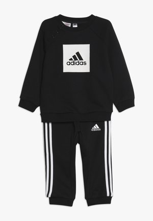 3STRIPES FRENCH TERRY TRACKSUIT BABY SET - Chándal - black/white