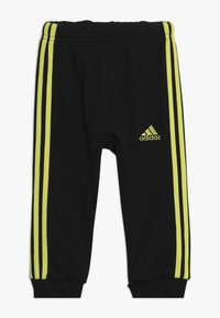 adidas Performance - 3STRIPES FRENCH TERRY TRACKSUIT BABY SET - Survêtement - green/yellow - 2