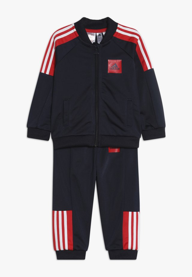 SHINY TRACKSUIT BABY SET - Chándal - legend ink/vivid red/white