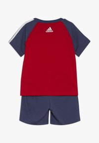 adidas Performance - SPORT SUMMER TRACKSUIT BABY SET - Tracksuit - vivred/tecind/white - 1