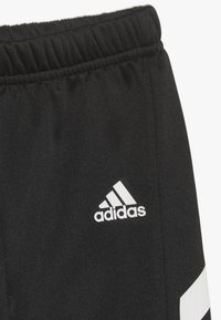 adidas Performance - MINI ME TRACKSUIT TRACKSUIT BABY SET - Tepláková souprava - black/khaki - 4