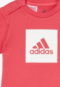 adidas Performance - LOGO SUMMER TRACKSUIT BABY SET - Tuta - core pink/white - 5