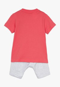 adidas Performance - LOGO SUMMER TRACKSUIT BABY SET - Tuta - core pink/white - 1