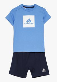 adidas Performance - LOGO SUMMER TRACKSUIT BABY SET - Survêtement - lucblu/white - 0