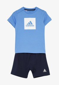 adidas Performance - LOGO SUMMER TRACKSUIT BABY SET - Survêtement - lucblu/white - 4