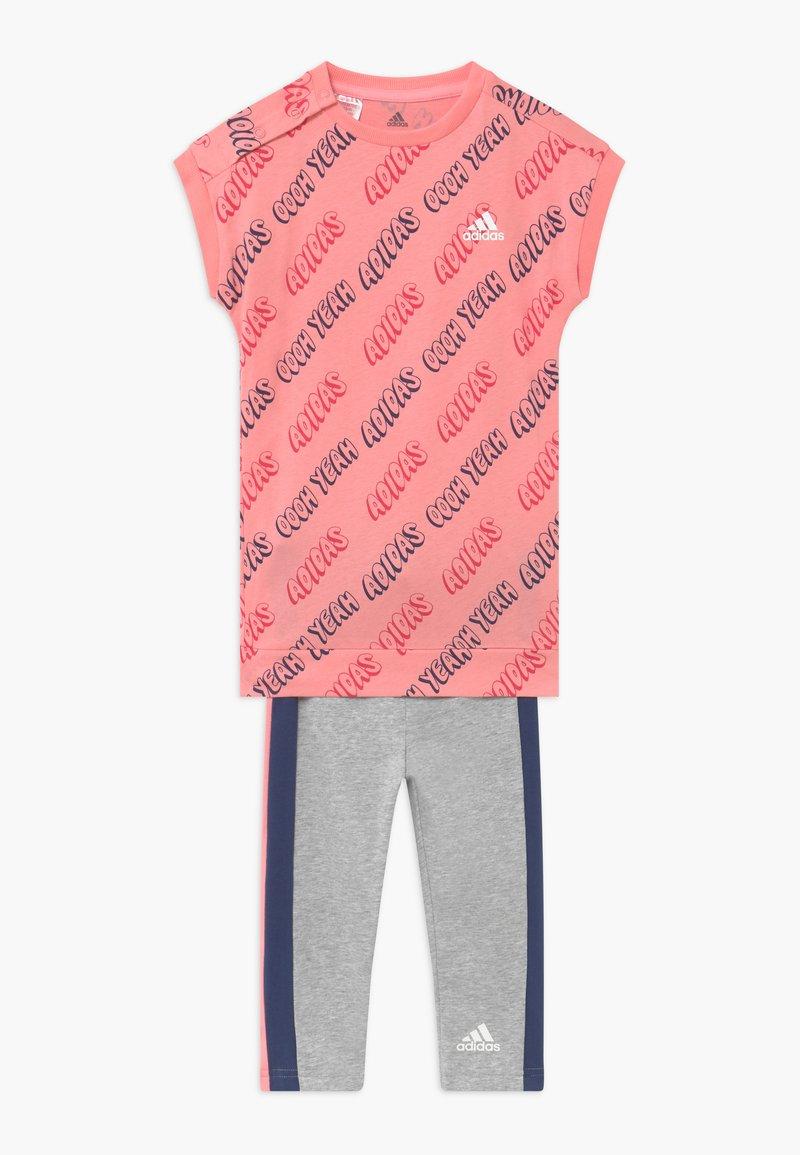 adidas Performance - SET - Punčochy - pink