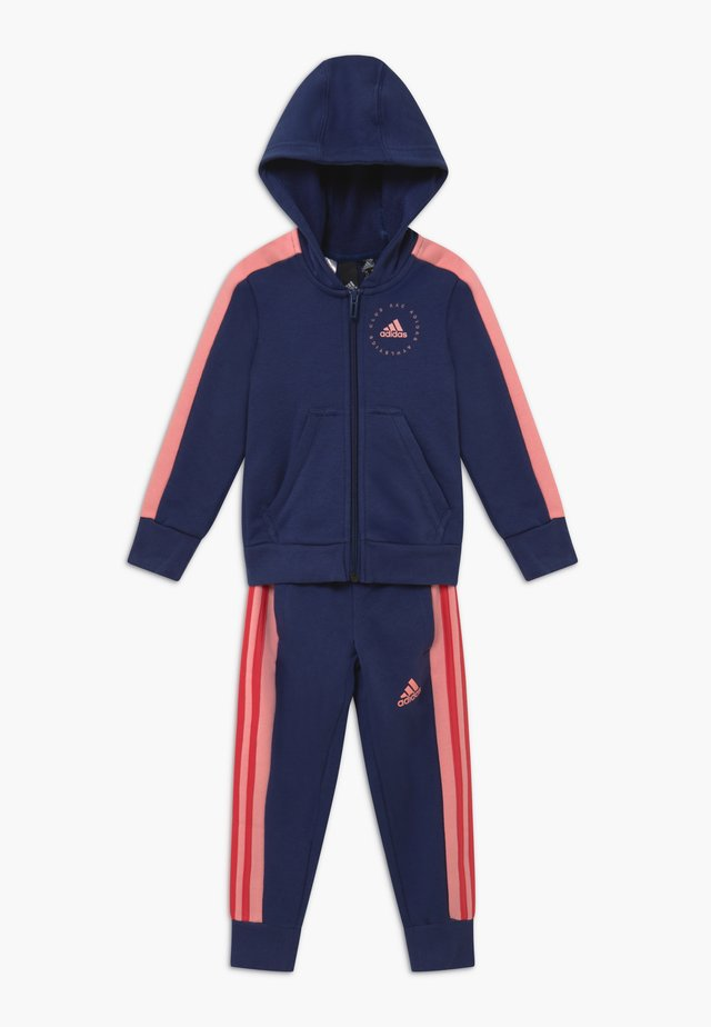 ATHLETICS HOODED TRACKSUIT BABY SET - Träningsset - dark blue