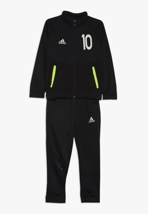 MESSI SET - Trainingspak - black/solar yellow/black