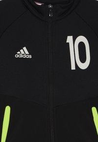 adidas Performance - MESSI SET - Trainingspak - black/solar yellow/black - 4