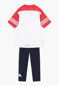 adidas Performance - SET - Collant - white/pink
