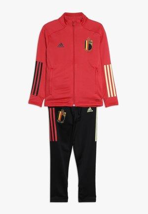 BELGIUM RBFA - Oblečení národního týmu - glory red/black