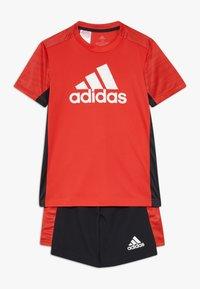 adidas Performance - SET  - Korte broeken - vivid red/black/white - 0
