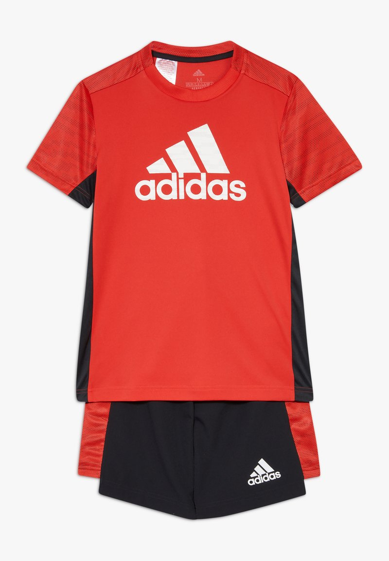 adidas Performance - SET  - Korte broeken - vivid red/black/white