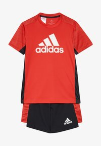 adidas Performance - SET  - Korte broeken - vivid red/black/white - 4
