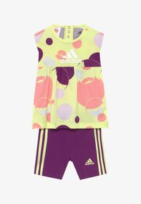 adidas Performance - SET  - kurze Sporthose - multi-coloured/purple