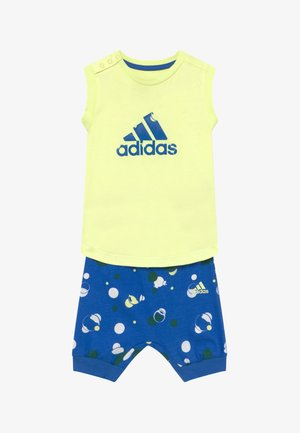 SET  - Short de sport - yellow/blue