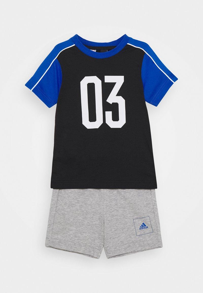 adidas Performance - SET - Tracksuit - black/blue/white