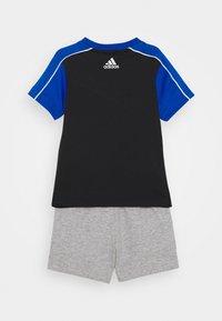 adidas Performance - SET - Tracksuit - black/blue/white - 1