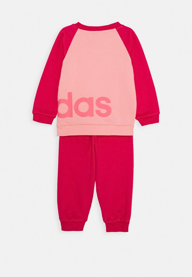 ESSENTIALS SPORTS TRACKSUIT BABY SET - Tuta - glow pink/power pink/signal pink