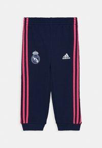 adidas Performance - REAL MADRID FOOTBALL TRACKSUIT BABY SET - Chándal - white/dark blue - 2