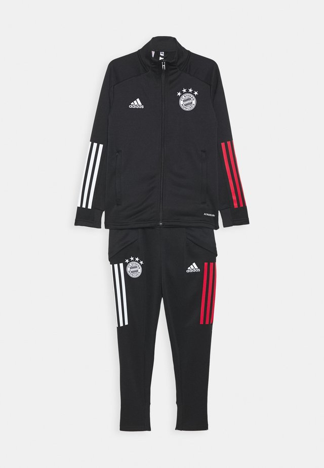 FC BAYERN MUENCHEN AEROREADY FOOTBALL TRACKSUIT - Article de supporter - black/red