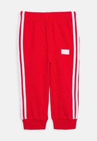 adidas Performance - Tracksuit - light grey heather/red/white - 2