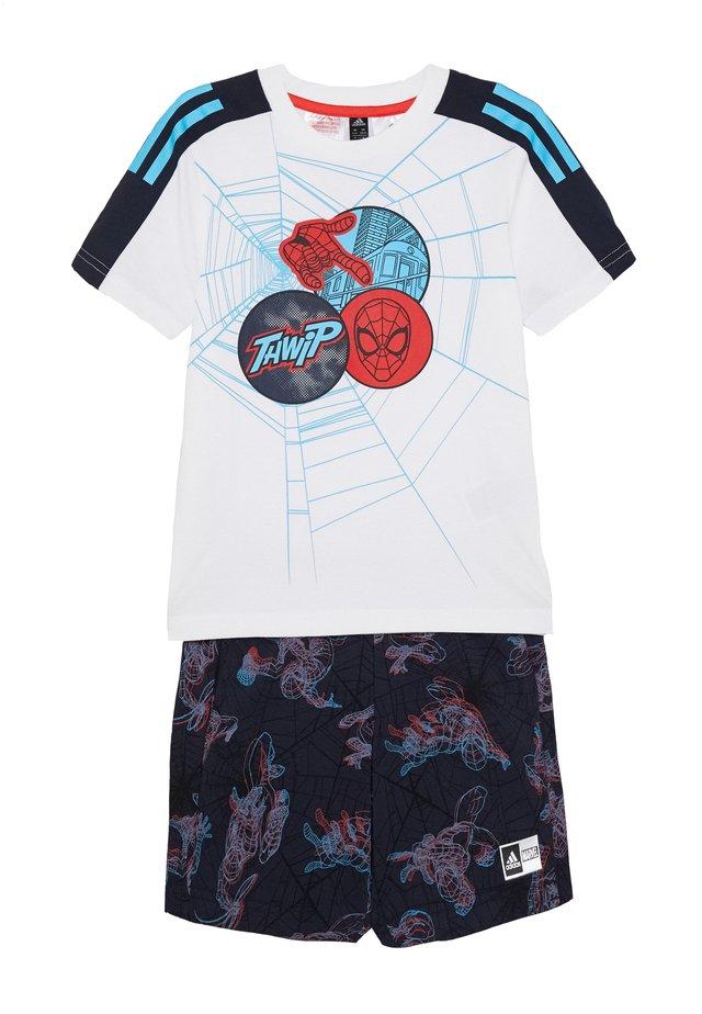 LB DY SM SUM - Pantalón corto de deporte - white/blue