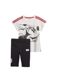 adidas Performance - MINNIE MOUSE SUMMER SET - Tracksuit - white - 0