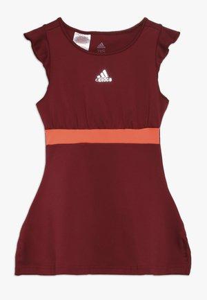 RIBBON DRESS SET - Jurken - collegiate burgundy
