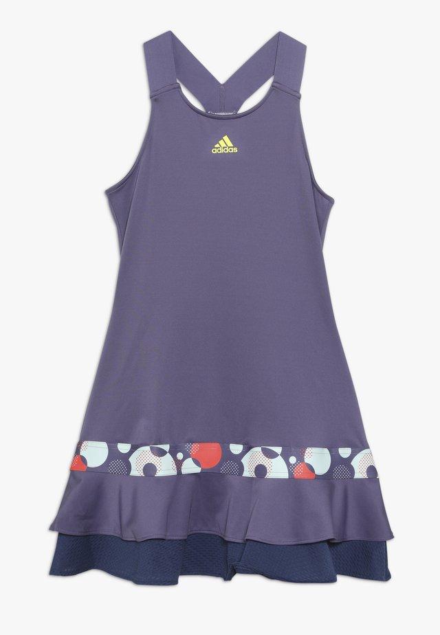 FRILL DRESS - Vestido de deporte - purple