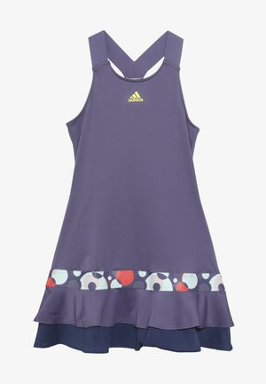 FRILL DRESS - Jurken - purple