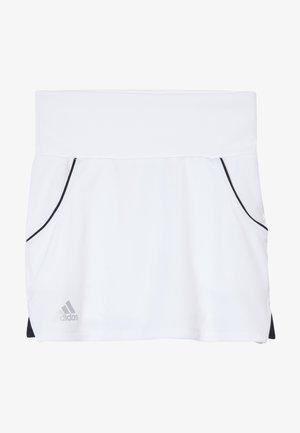 CLUB SKIRT - Sportovní sukně - white/silver/black